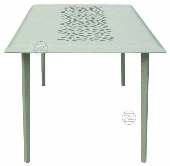 Stół MONET z odlewy aluminiowego