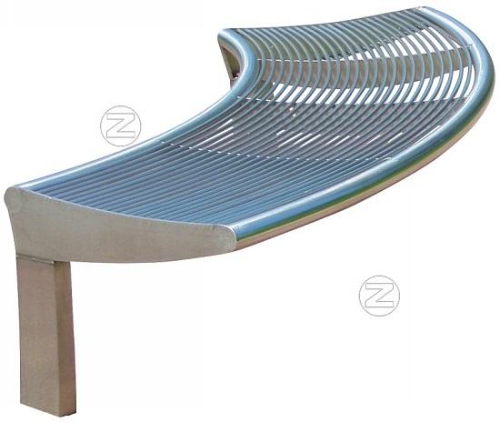 Okrągła ławka CARPI bez oparcia