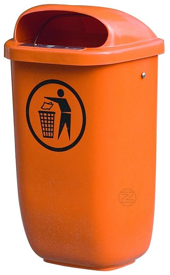 Kosz na śmieci YORK z tworzywa sztucznego