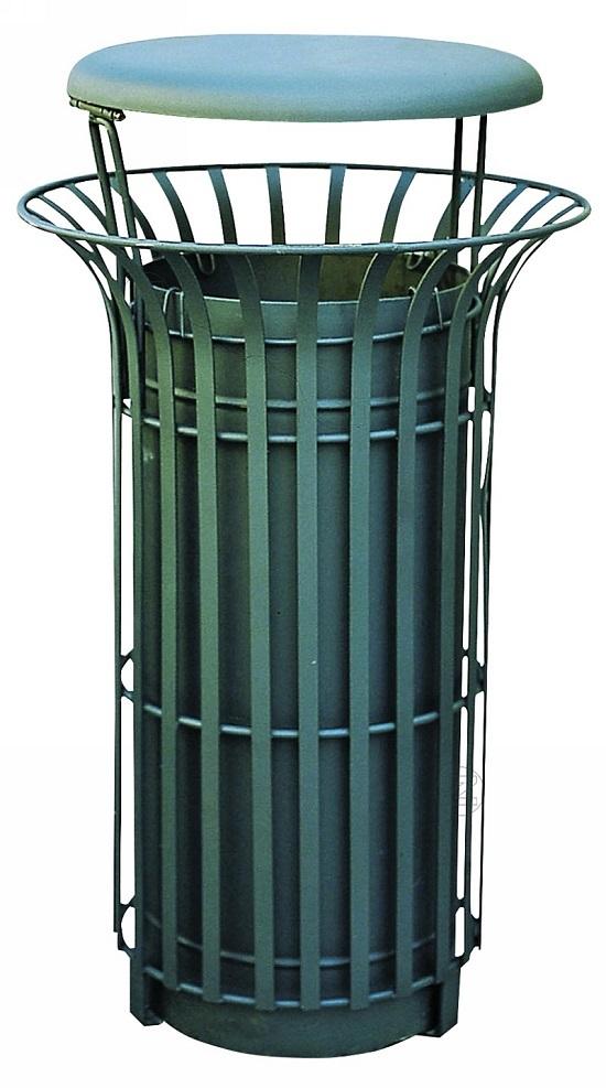 Kosz na śmieci COROLLA ze stali
