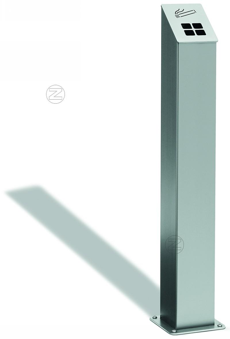 Popielnica stojąca SMOKY ze stali nierdzewnej