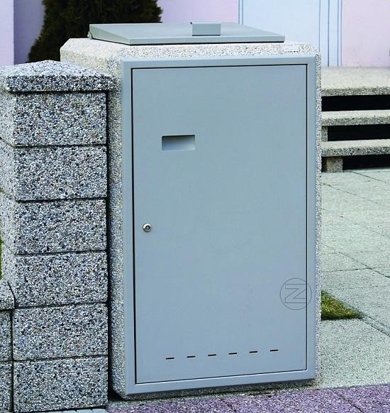 Osłona śmietnikowa CITY z betonu