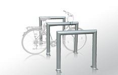 Stojak rowerowy CANE ze stali nierdzewnej