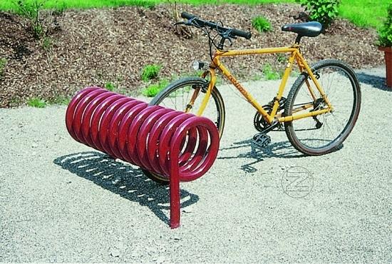 Stojak rowerowy DESIGN-PARKER z aluminium