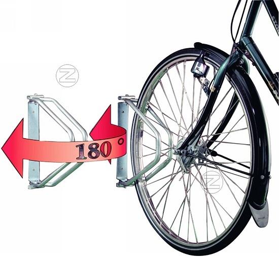 Pałąk rowerowy TROY ze stali