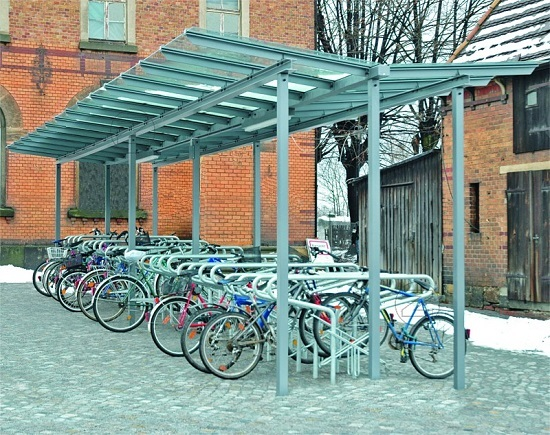 Zadaszenie rowerowe PEGASUS
