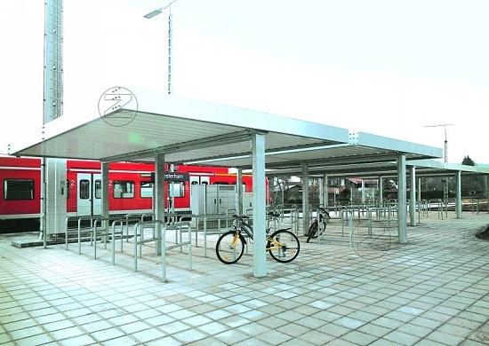 Zadaszenie rowerowe MODELL T