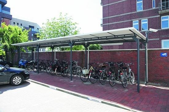 Zadaszenie rowerowe MATRIX