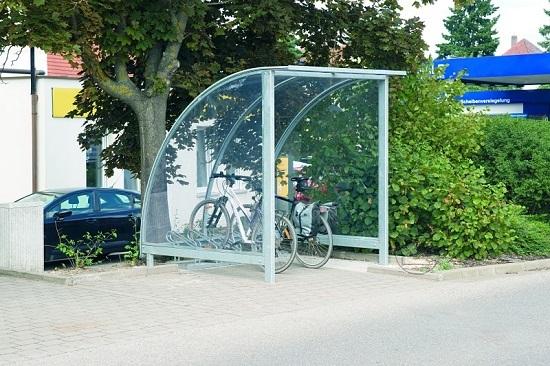 Zadaszenie rowerowe VENERA
