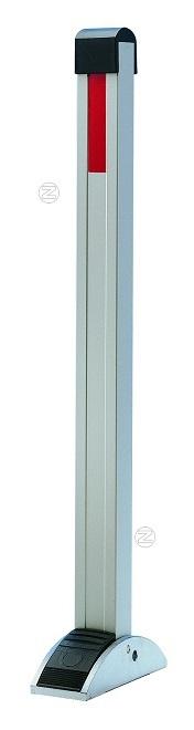 Słupek parkingowy z nożnym pedałem z aluminium