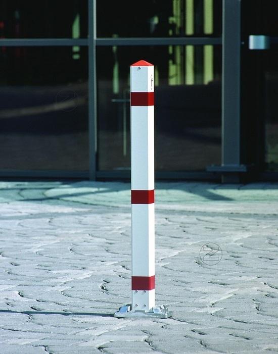 Słupek parkingowy GIRONA z aluminium