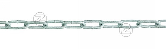 Łańcuch odgradzający ze stali