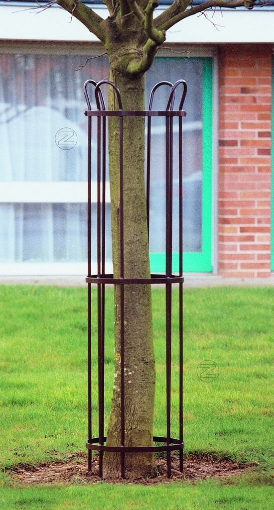 Osłona drzewa TULIP ze stali