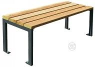 Stół FOGGIA z drewnianym olistwowaniem