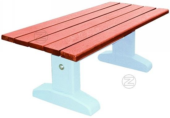 Stół SONJA z betonu płukanego