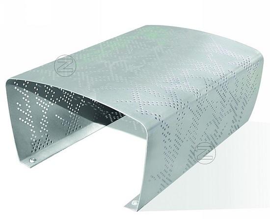 Ławka TARANTO z aluminium