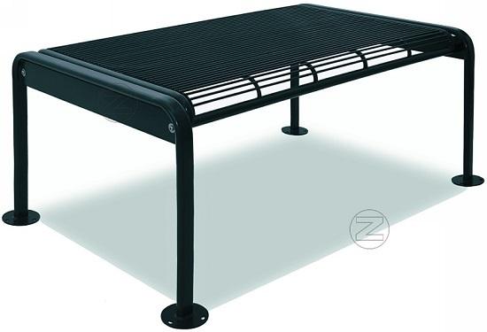 Stół ETHOS ze stali okrągłej