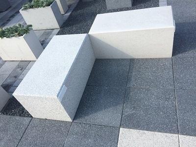 Siedzisko betonowe