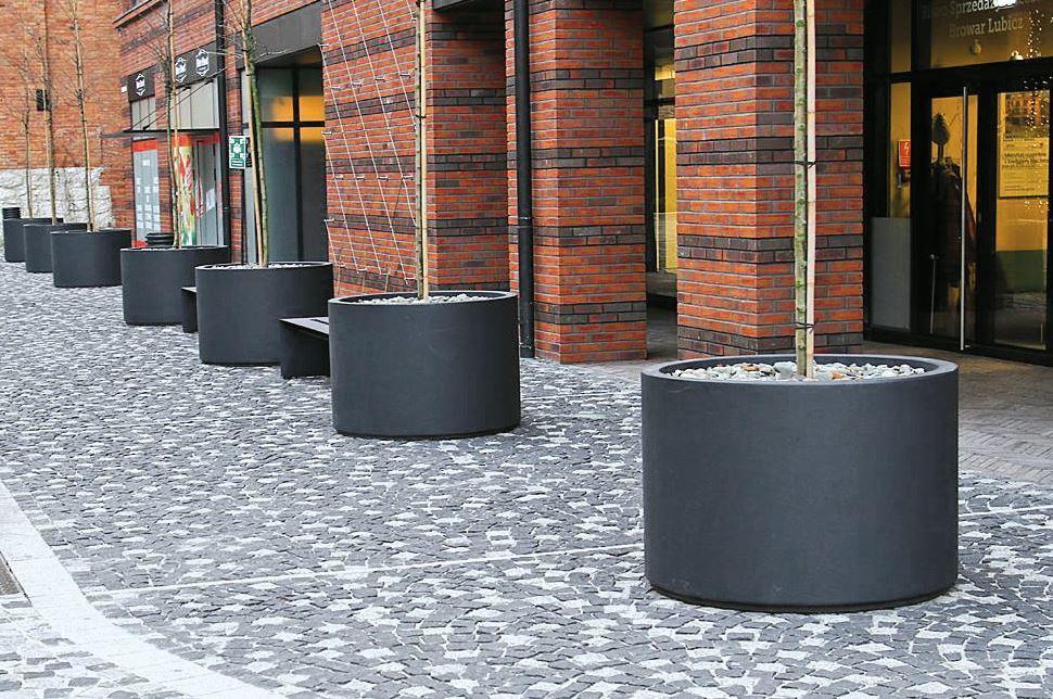 Donica MEGAN 2 z betonu architektonicznego